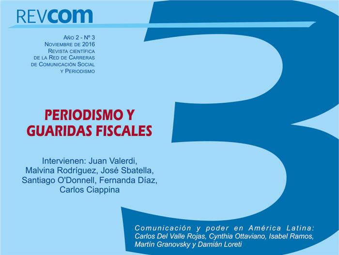 Ver Núm. 3 (2016): Periodismo y guaridas fiscales