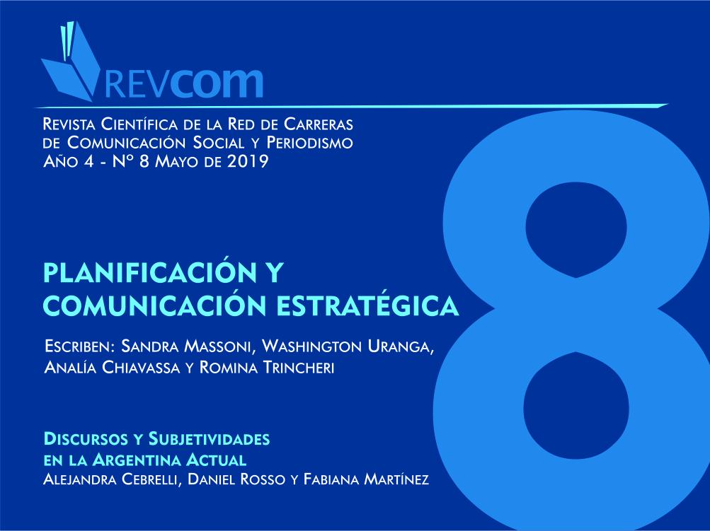 Ver Núm. 8 (2019): Planificación y comunicación estratégica