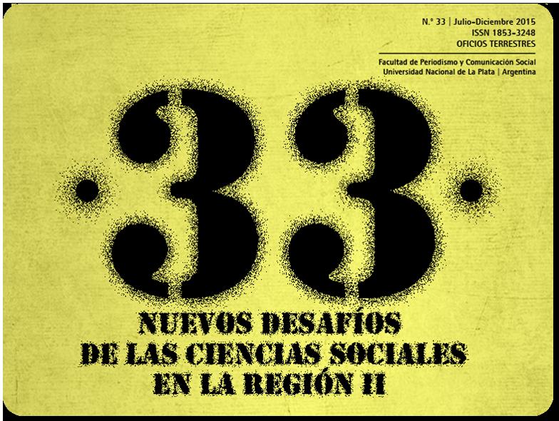 Portada de Oficios Terrestres 33: Nuevos desafíos para las Ciencias Sociales en la región II