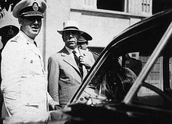 Farrell y Perón