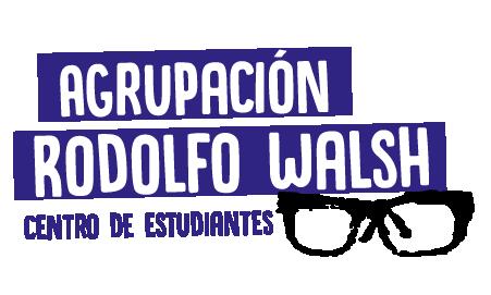 Logo Agrupación Rodolfo Walsh