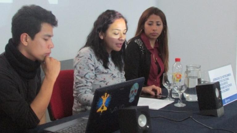 Panel de presentación de la actividad