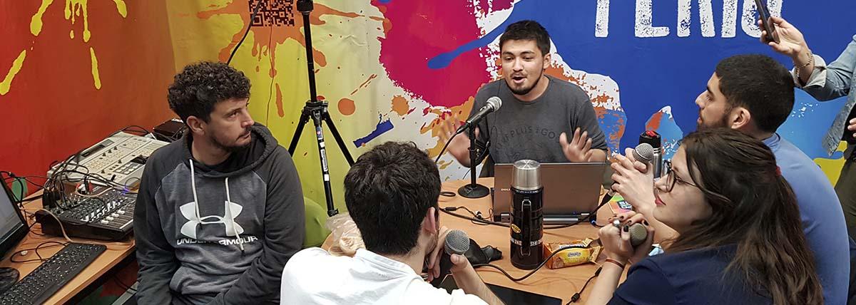 programa de radio realizado en la expouniversidad