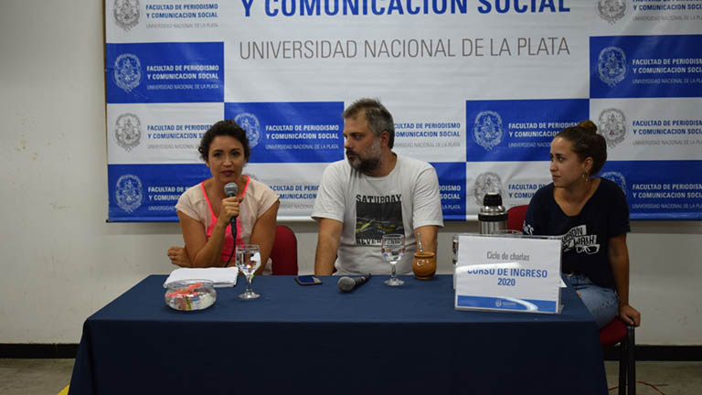Panel Mengolini y Vázquez