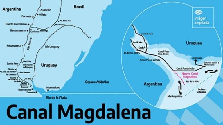 Canal Magdalena: una salida estratégica al Atlántico - Facultad de  Periodismo y Comunicación Social - UNLP